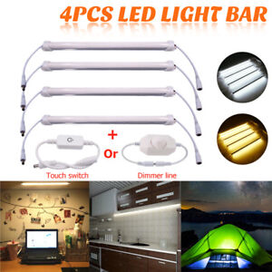 4X-30cm-5630-42LED-Rigid-Hard-Cabinet-Strip-Light-Bar-Kitchen-Mirror-Showcase
