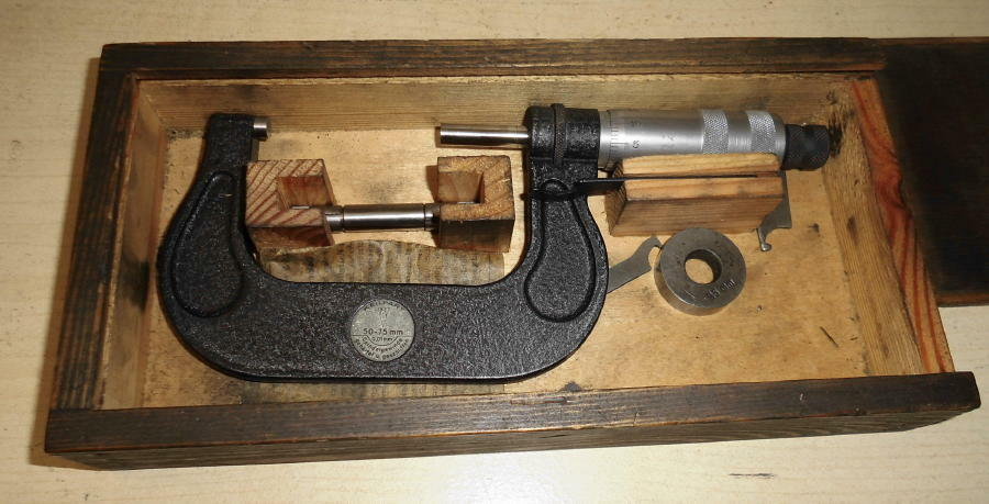 Keilpart Präzisions - Mikrometer 50-75 50-75 50-75 mm Bügelmessschraube | Vielfalt  | München Online Shop  | Charakteristisch  4d9d60