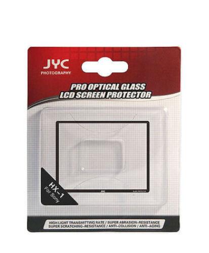 JYC dsc-hx1 Sony Cybershot 0,5mm pantalla de vidrio contra protector pantalla LCD