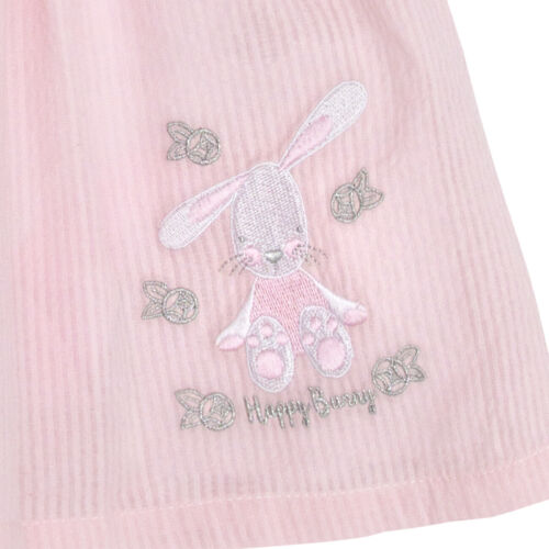 Baby Girls Summer Dress Bunny Rabbit 100/% Cotton Bodysuit Pretty Girly Outfit