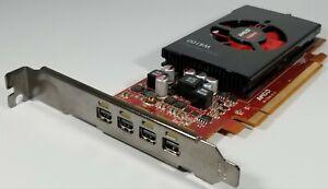 Amd Firepro W4100 2gb Pci E Video Graphics Card Quad Displayport Full Height Ebay