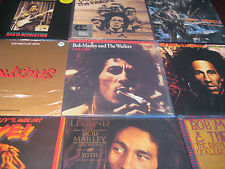 BOB MARLEY CATCH A FIRE MFSL LOW #D 9 + 30TH ANNIVERARY LP'S & OTHER RARE TITLES