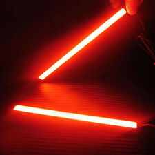 Car LED DRL Fog Driving Brake Light Lamp 2x Red 12V Waterproof Super Bright COB
