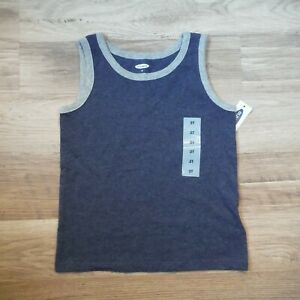 Boys-Old-Navy-Gray-Tank-top-shirt-size-3T-Sleeveless-new