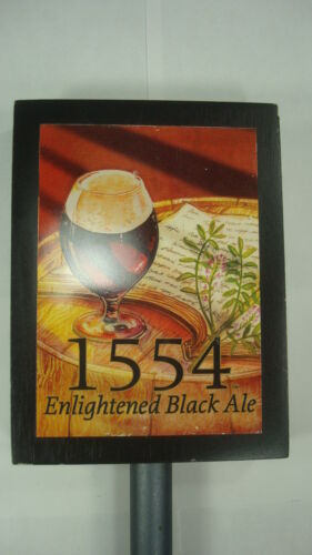 1554 Enlightened Black Ale Beer Tap Handel Keg Brewery Craft Man Cave