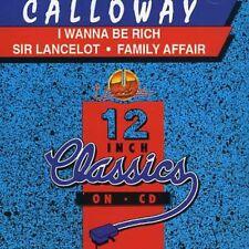 Calloway - I Wanna Be Rich/Sir Lancelot [New CD] Canada - Import