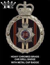 Royale Heavy Chromed Brass Car Badge - ROYAL CORPS OF TRANSPORT - B5.014 SUPERB