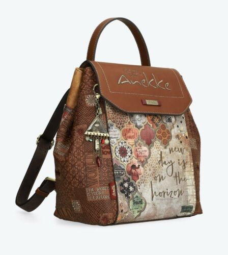 Anekke Egypt Cool Backpack With Flap Opening Ladies Rucksack High Quality UK ...