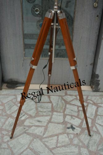 Spot Search Light With Tripod Stand Nautical Photography Floor Studio Lamp