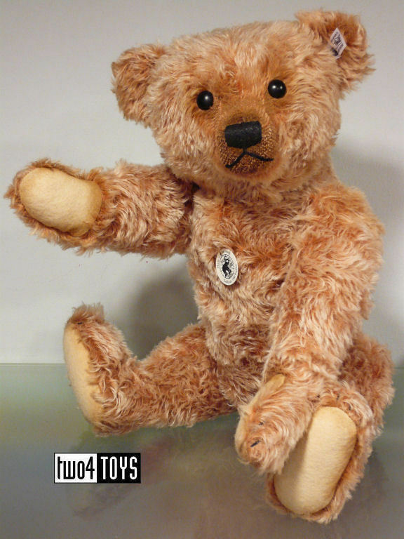 Steiff Ltd IMPRESSIVE TEDDY BEAR CINNAMON 1908 REPLICA 50cm/ 20in 403156 RETIrosso