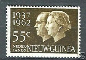 Ned-Nieuw-Guinea-75-zilveren-huwelijk-postfris-MNH