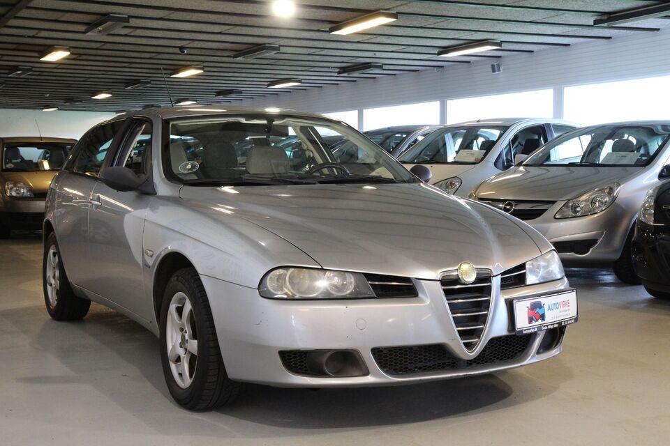 Alfa Romeo 156 2,0 JTS Sportwagon Benzin modelår 2004 km