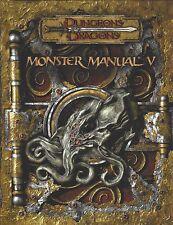 Dungeons & Dragons 3.5 Edition Monster Manual V Handbook