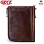 Men-Genuine-Leather-Cowhide-Wallet-Bifold-RFID-Credit-Card-Holder-Zipper-Purse thumbnail 2