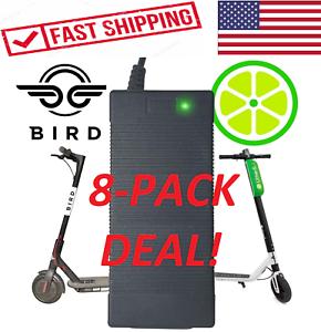 Paquete De 8  Vendedor de EE. UU.  Cochegador para pájaro Cal XIAOMI mijia M365 42V Scooter eléctrico