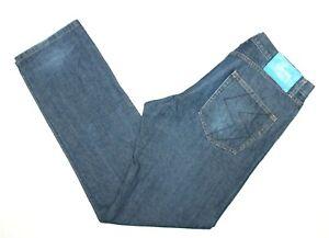 Stussy-Men-039-s-Blue-Denim-Jeans-Actual-Size-W36-034-L33-034