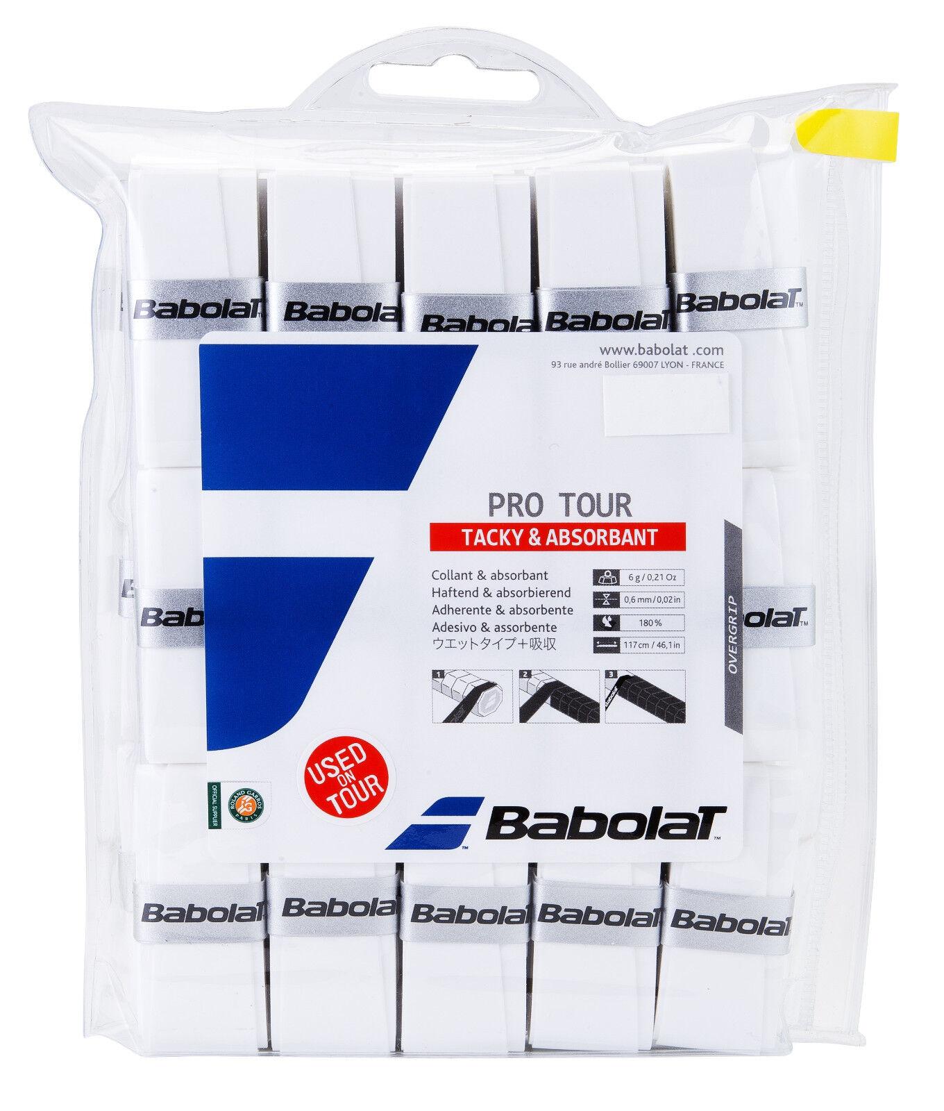 Babolat Pro Tour x 30 Griffbänder für Tennis Tennis Tennis Grips 34654b