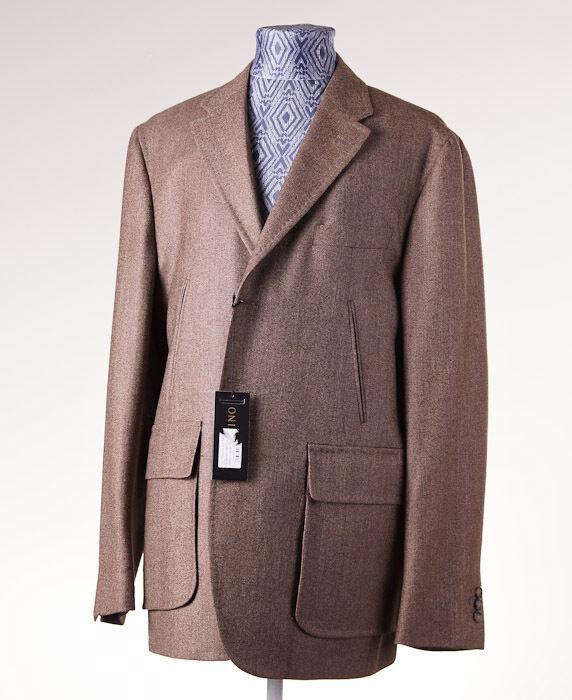 NWT 1695 VALENTINO Soft Woven Tweed Wool-Silk-Linen Sport Coat 46 R