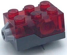 LEGO 10 Trans Red Minifigure Head Light Globe Street Light Christmas Bulb NEW