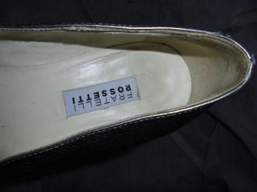 Women's Size Vgc Eu 5 Slip Fratelli Shoes Silver 37 Uk On Rossetti 4 5 qpSxnY56Rw