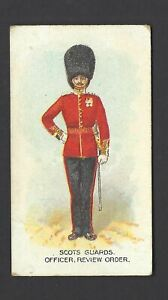 WILLS-AUS-TYPES-OF-BRITISH-ARMY-CAPSTAN-29-SCOTS-GUARDS