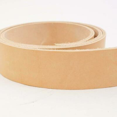 """7//8 oz Cowhide Belt Blank with Snaps 1.5/"""""""