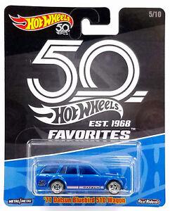 Hot-Wheels-71-Datsun-Bluebird-510-Wagon-2018-Favorites-50th-Anniversary