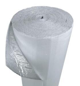 1.2m X 7.6m M Blanc Double Bulle Réfléchissant Papier Isolant Thermique Barrière IJnR2k7G-07134809-865875517