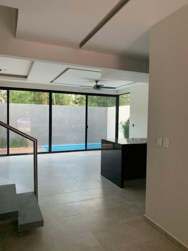 Casa para estrenar en venta de 4 recamaras en Residencial Aqua Fase ll Cancun