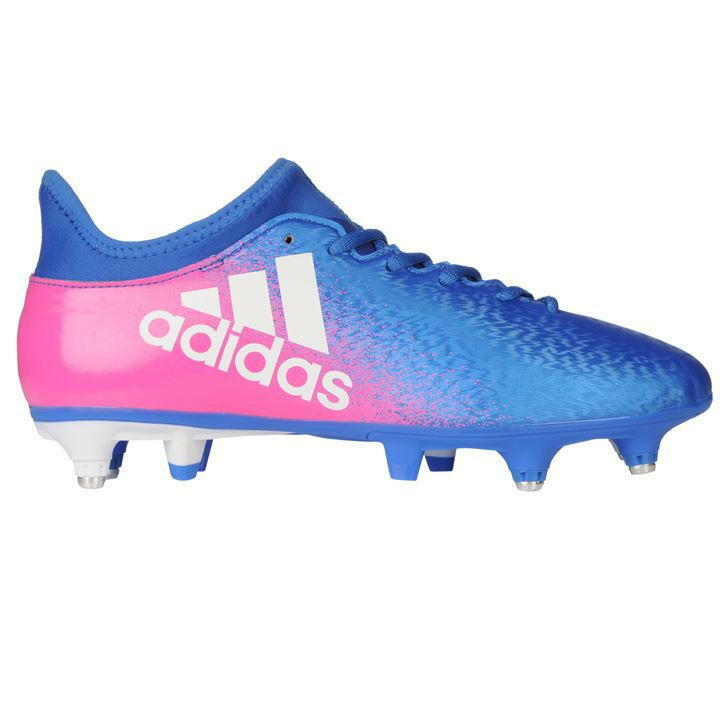 Adidas X 16.3 SG Football Stiefel  Uomo  UK 7 US 7.5 EUR 40 2/3 ref 3036^