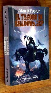 ALAN-D-FOSTER-Il-tesoro-di-Shadowkeep-p-e-1992-Sonzogno-Fantasy