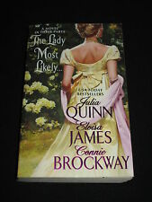 msm* JULIA QUINN ELOISA JAMES CONNIE BROCKWAY ~ THE LADY MOST LIKELY