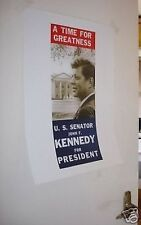 John F Kennedy Campaign President Door Poster JFK