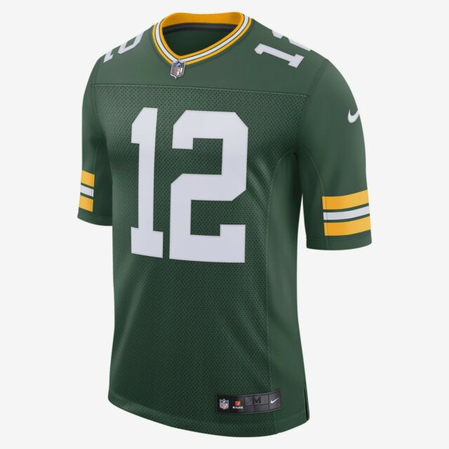 pick up ecb42 39be0 NIKE AUTHENTIC NFL GREEN BAY PACKERS #12 AARON RODGERS JERSEY MEN'S SIZE  LARGE