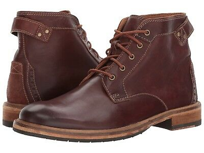 Men/'s Clarks 1825 Clarkdale Bud Lace Up Boot Mahogany Brown 26127775