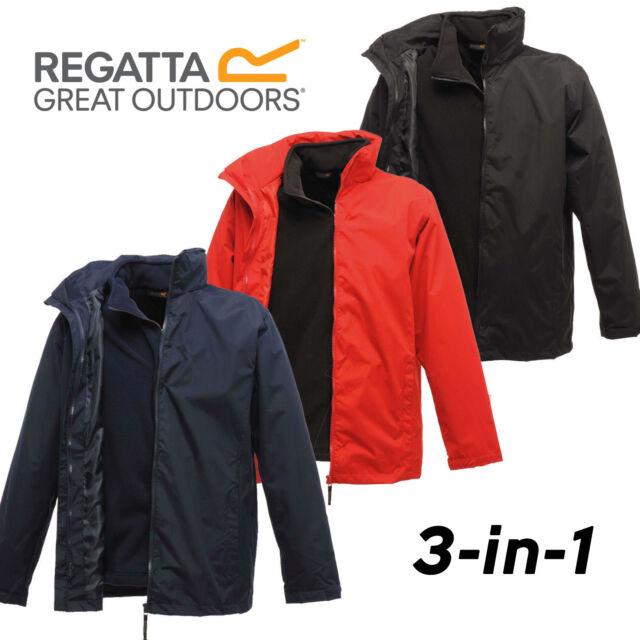 Regatta 3 in 1 Classic Jacket  Mens Waterproof Windproof Hydrafort 5000 Superb