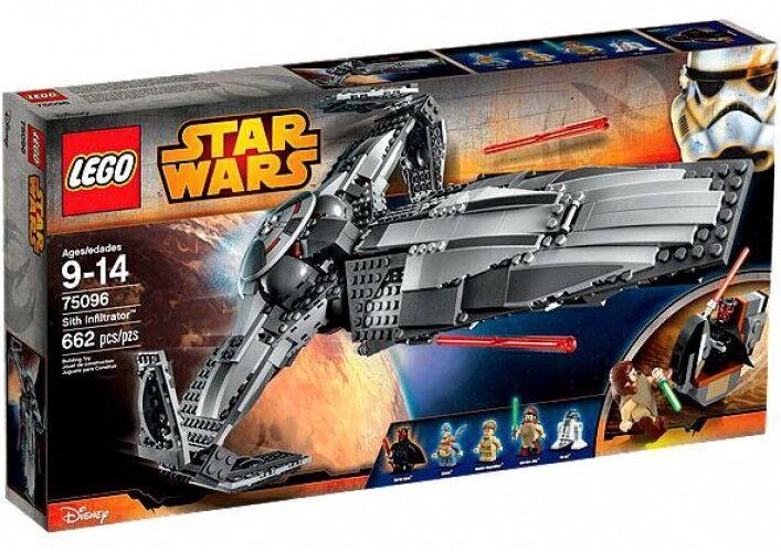 LEGO Star Wars The Phantom Menace Sith Infiltrator Set  75096