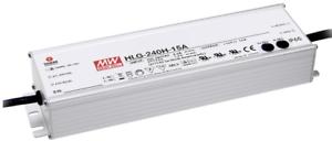 LED transformador-fuente de alimentación 192w - 16a - 12v dc impermeable Meanwell  hlg-240h -12 a  ip6