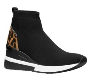 Knit High-Top Booties Sock Sneaker | eBay