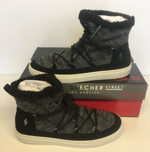 Warm Skechers Side Boots Wrappers New Ladies Women's Brand Street 73578 wwaq7FZ
