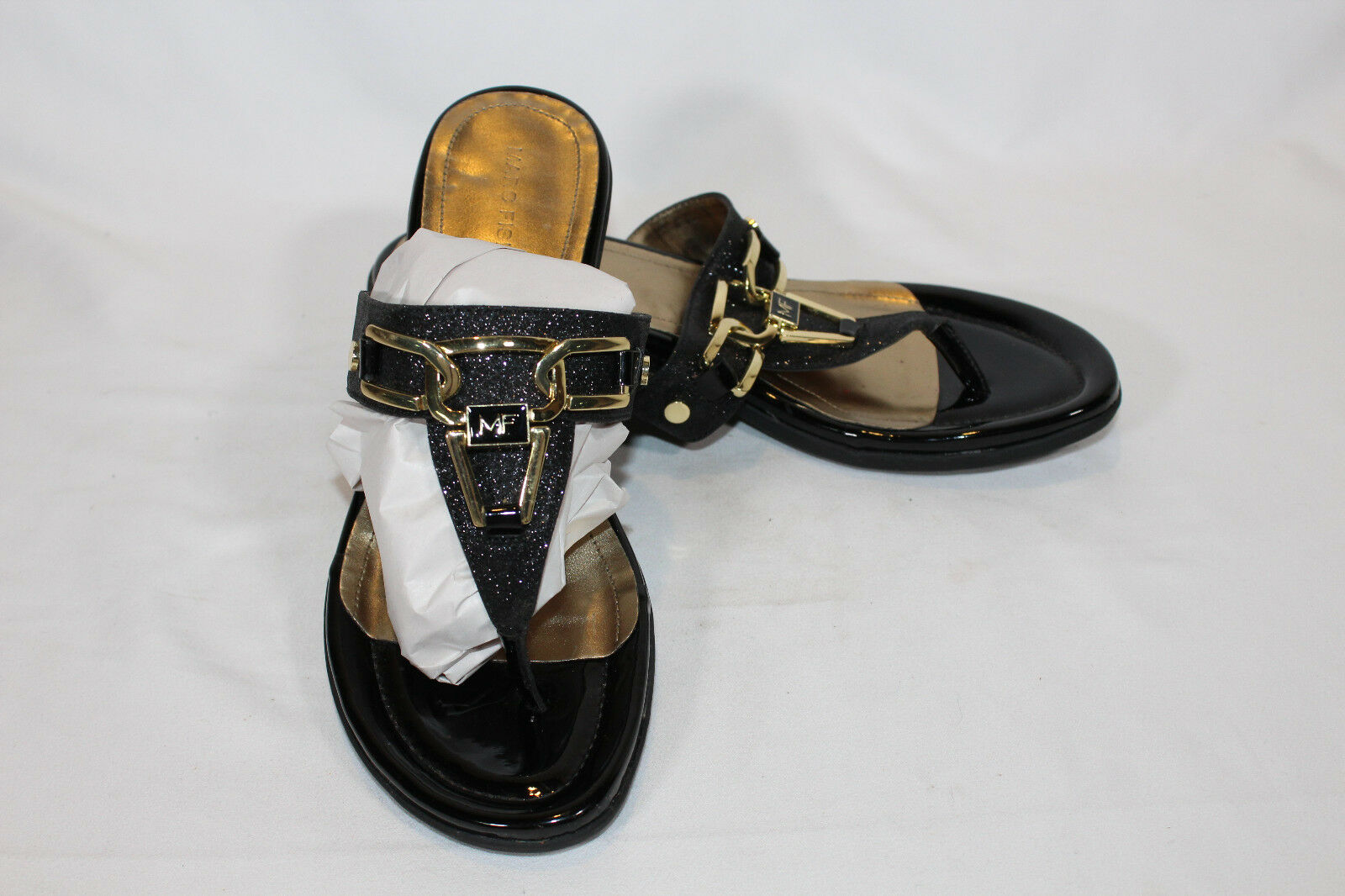 Marc Fisher Thong Sandals w/ Hardware SIZE Accent - Alining PICK SIZE Hardware & COLOR NTO b2e794