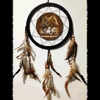 10 3d Lenticular Horse Equestrian Dream Catcher Wall Hang Decor Feathers Gift