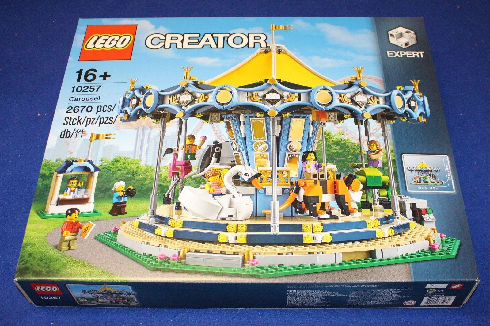 presa di fabbrica Lego Lego Lego Creator 10257 Karussell (autoousel) NEU, OVP & MISB  presa