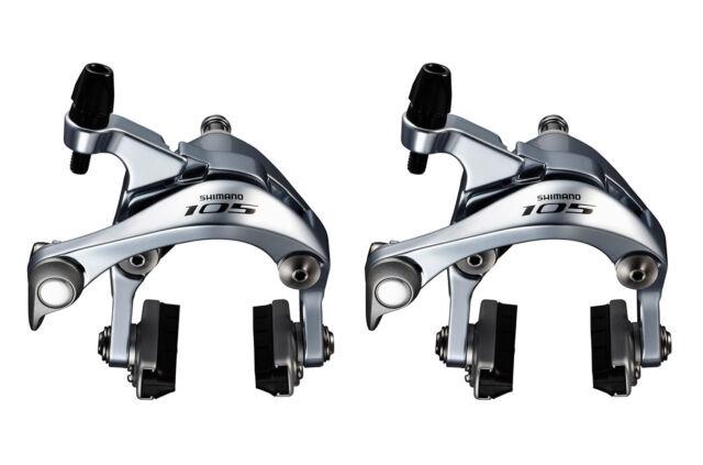 Shimano 105 5800 - Dual Pivot Road Bike Brake Calipers - Silver