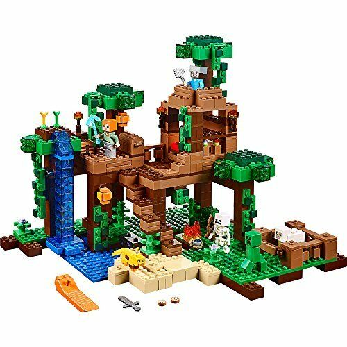 Lego Minecraft La Selva Tree House 21125