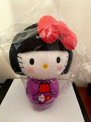 sanrio Hello Kitty clown stuffed Soft Plush doll japnese 20 cm