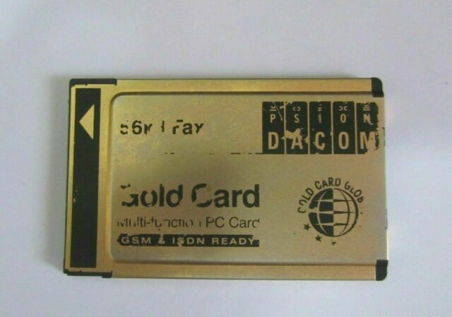 DACOM GOLD CARD ISDN DRIVER FOR WINDOWS 7