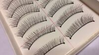60 Pairs (6 Boxes ) Charming Cross Design Black Natural Long False Eyelashes A1