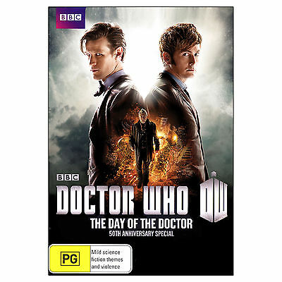 Doctor Who: The Day of the Doctor DVD - 50th Anniversary Special Matt Smith