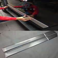 ABS For Toyota FJ Cruiser 2007-2016 Car Door Side Sill Nerf Bar Plate Cover Trim